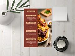 Restaurant menu design in illustrator ud83cudf74ud83cudf74