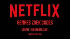 Netflix Genres Zoek Codes Update 21 oktober 2021