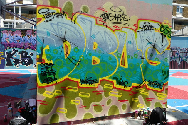 Dbug graffiti, Stockwell
