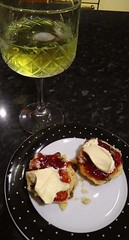 G&T with cream tea for pudding