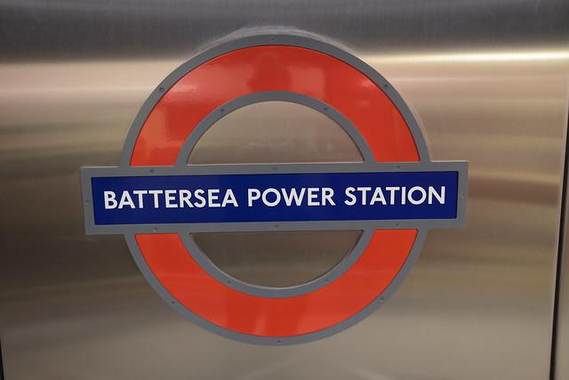 Battersea Power Station roundel