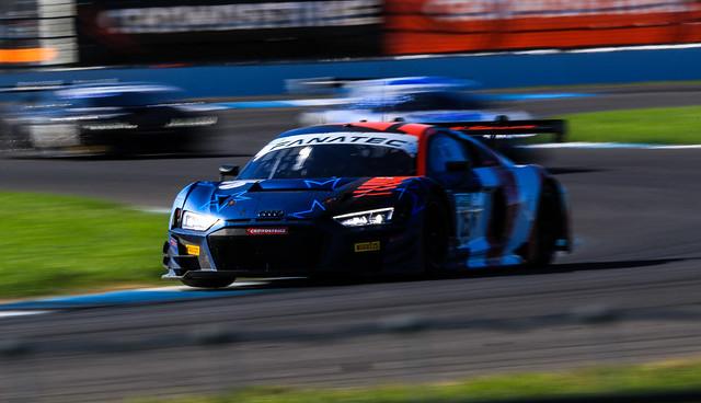 2021 Indianapolis 8hrs IGTC - Race Day - Sainteloc Audi