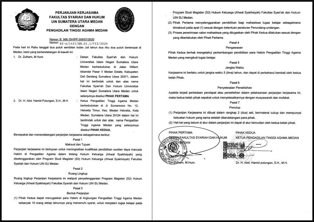 Ketua PTA Medan Imbau PA Jalin Kerja Sama Dengan Instansi Lain | (25/10)
