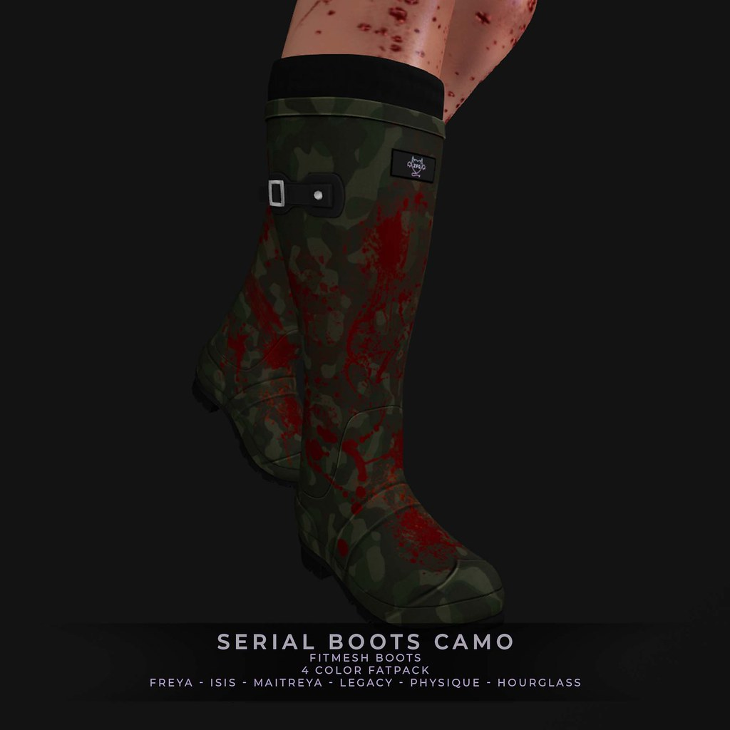 ZFG SERIAL BOOTS CAMO