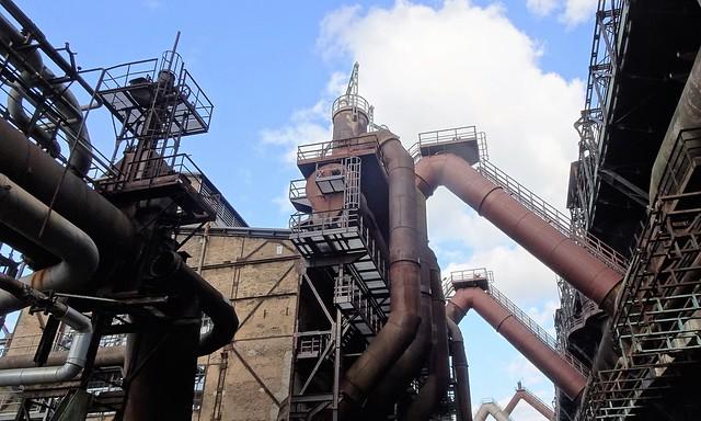 Amazing industrial archaeology: Völklingen Ironworks