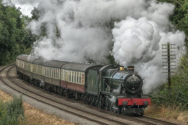 6990 at G.C.R Steam Gala