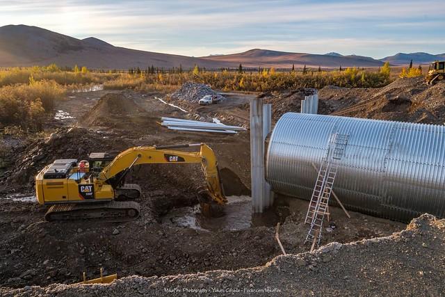 Huge Culvert Installation at North Cache Creek - 1
