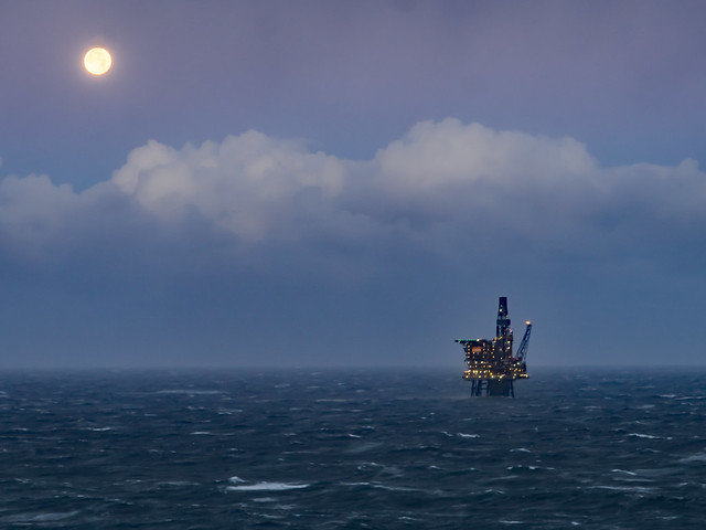 Hunters Moon - Offshore in the North Sea