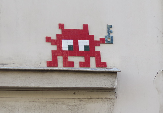 PA_1433 Space invader in Paris 5th