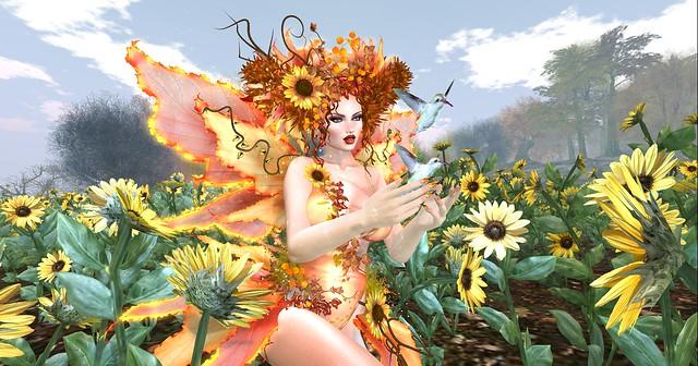 The Garden of Sunflowers