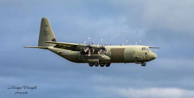 ZH867 RAF Lockheed C130J Hercules C4
