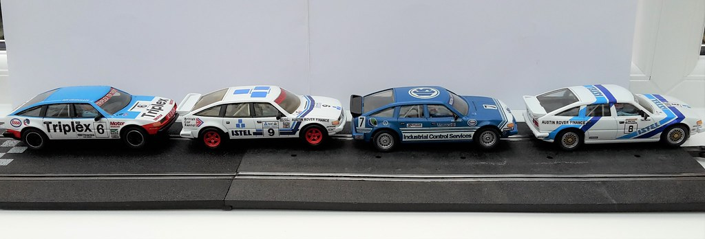 Scalextric Rover 3500 Touring Cars