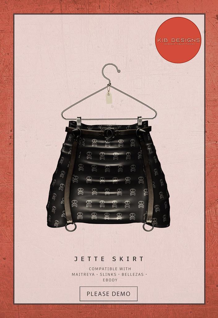 KiB Designs – Jette Skirt Limited – Beauty Prize @Beauty Event 21st oct.