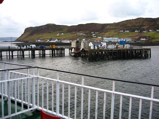 Uig Pier