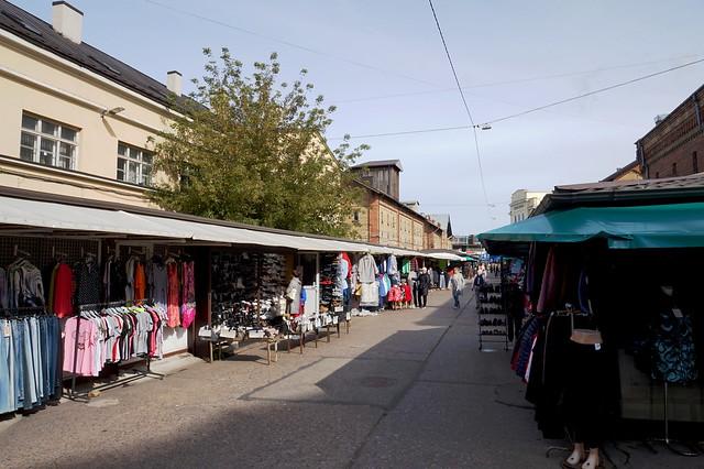Riga - Around the Central Market