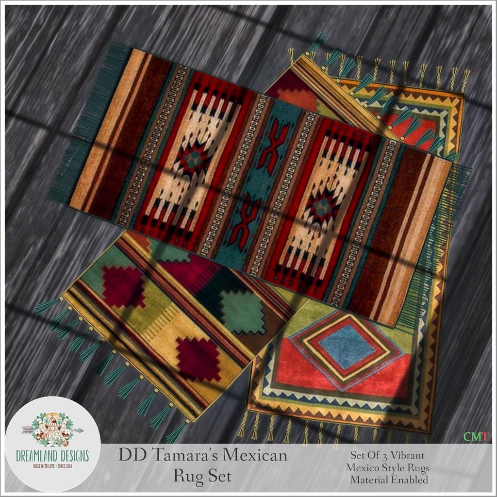 DD Tamara's Mexican Rug SetAD