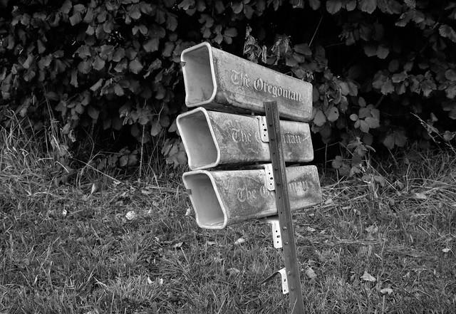 Newspaper Boxes, Sauvie Island, Oregon
