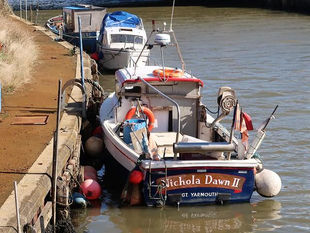 Fishing boat Nichola Dawn II of Great Yarmouth