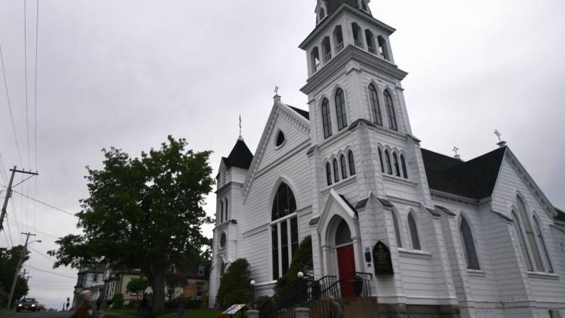 Locke and Key church