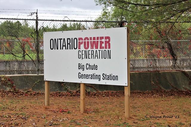 Big Chute Generating Station - Ontario Power Generation