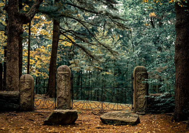 The Haunted Spider Gates Cemetery