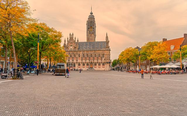 Stadhuis, Middelburg.