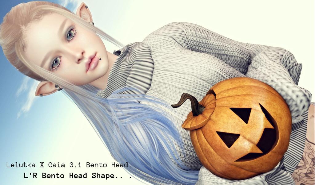 NEW! Lelutka X Gaia 3.1 Bento Head Shape –