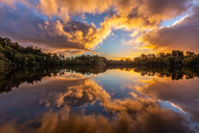 Blakemere Sunrise, October 2021