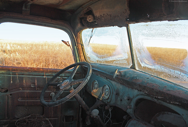 Wheat Truck Windshield - Washington State