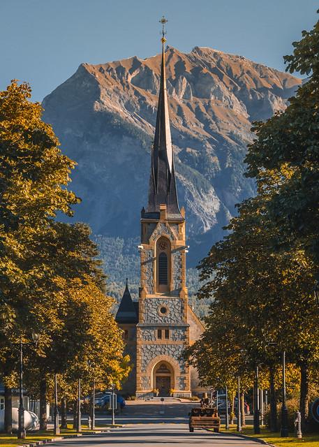 Church of Bad Ragaz, Switzerland