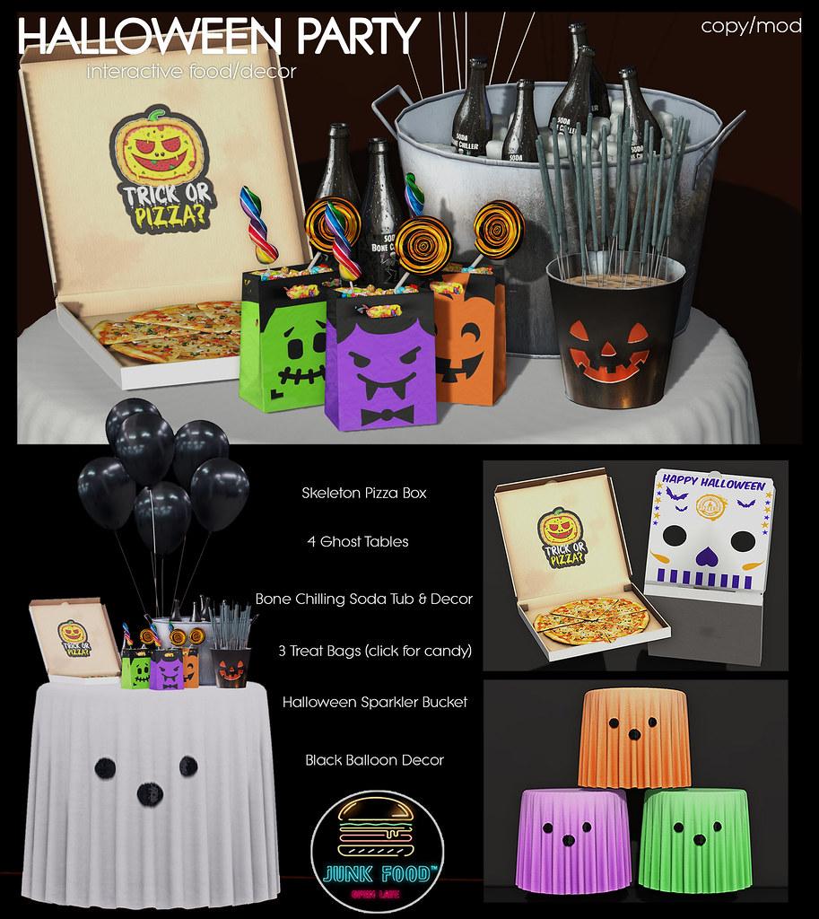 Junk Food – Halloween Party