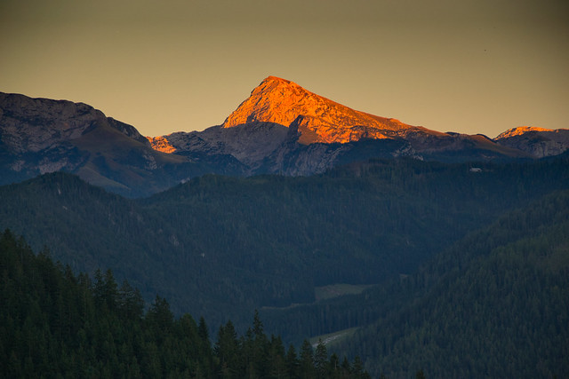 Kahlersberg (2350 m) in the Hagengebirge, Austria/Bavaria