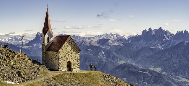 Dolomites...Latzfonser Kreuz...