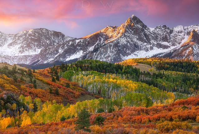 Sneffels Autumn Sunrise