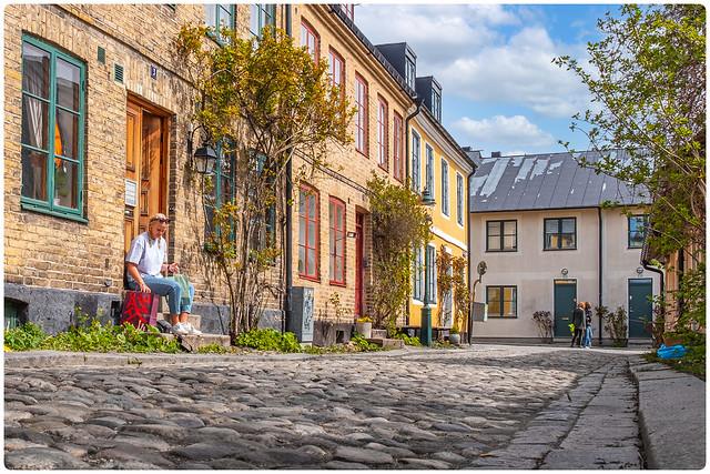 Sweden - Old Lund - Stora Sigridsgatan