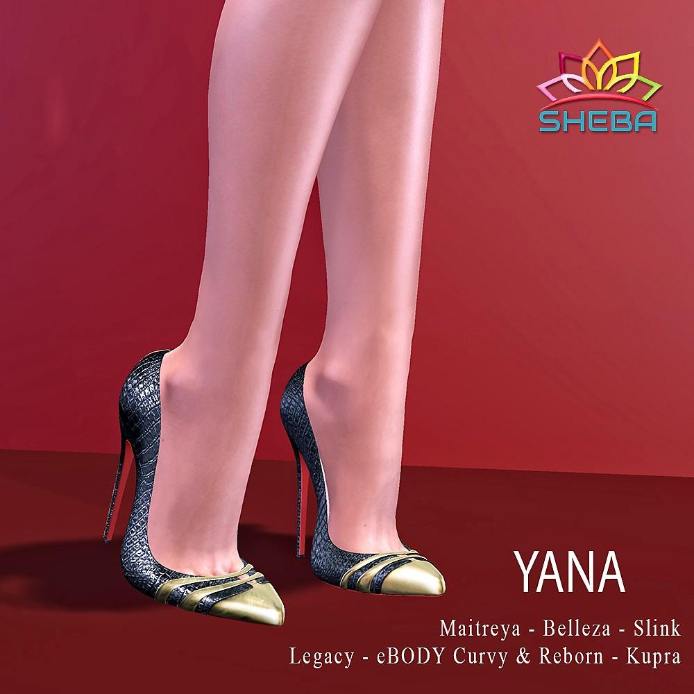 [Sheba] Yana Heels UPDATED & SALE @FBF