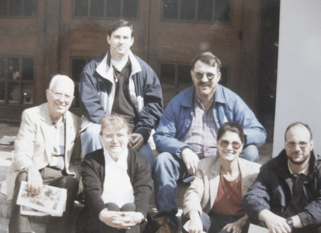 gathering of friends circa 98