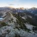 Eastern panoramic view on Wild Goat Peak