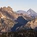 Bears Breast Mountain and Mount Stuart
