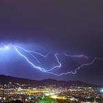 10. Oktoober 2021 - 21:12 - storm over Athens city 10/10/2021