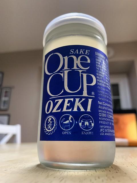Ozeki One Cup Sake