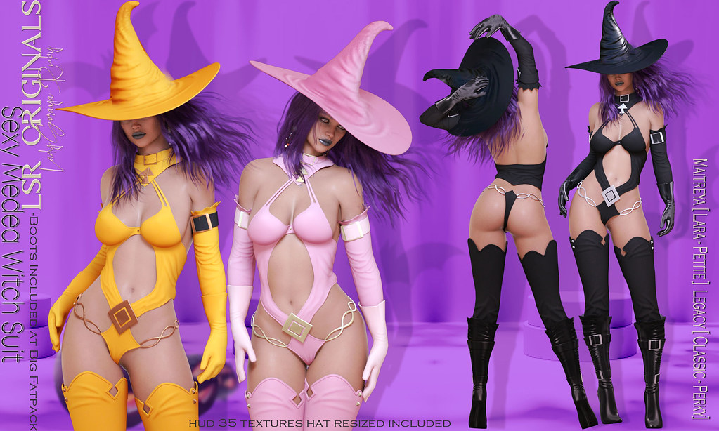Sexy Medea Witch Suit F