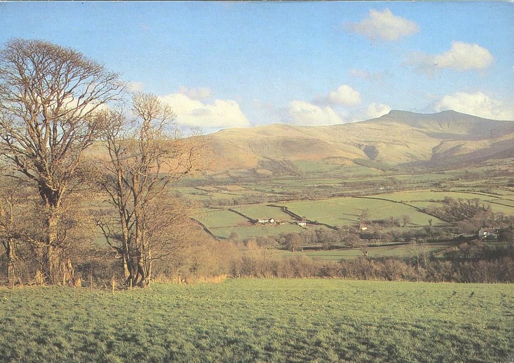 Brecon Beacons - Wales - Postcard