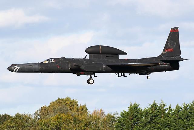 BLACK 01 - USAF Lockheed U-2S 'Dragon Lady' 80-1085 - 99th ERS, 9th RW - Beale AFB, CA