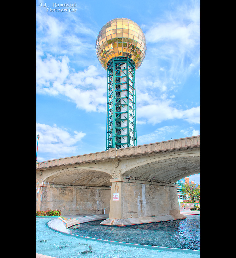 Sunsphere at World's Fair Park - Knoxville, Tennessee
