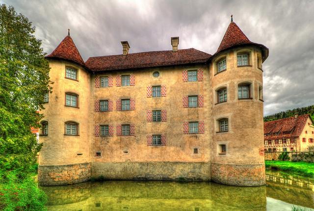 Sulz a. Neckar - Wasserschloss Glatt 03