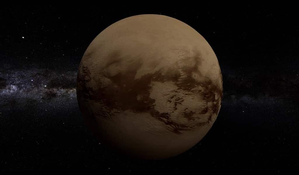 Titan pourrait être condamnée à s'écraser sur Saturne