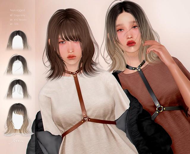 tram K1025 hair