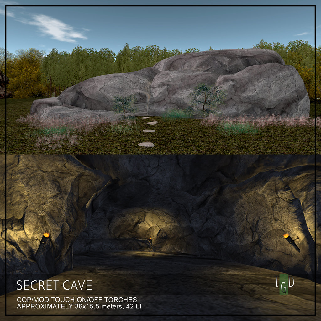 L$75 This Weekend – The Secret Cave