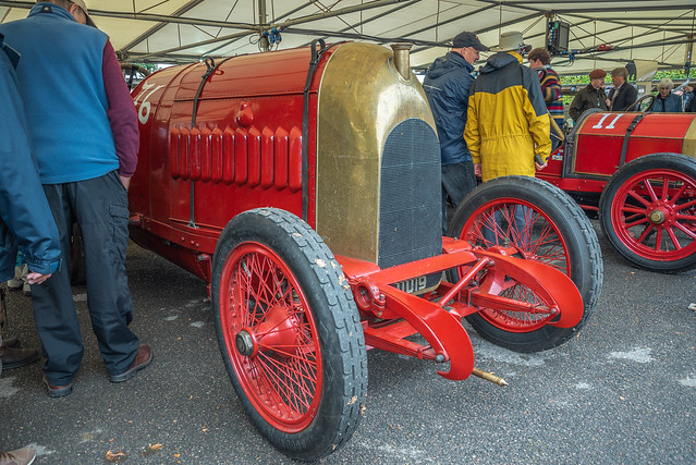 1911 Fiat S76 The Beast of Turin - 28 Litre engine